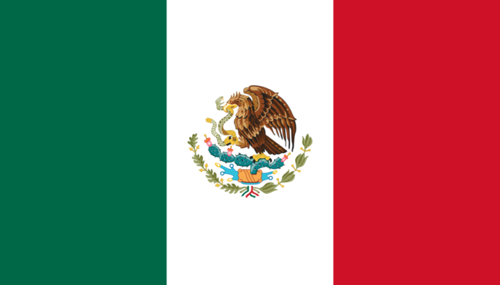 paginas web chile icono bandera Mexico
